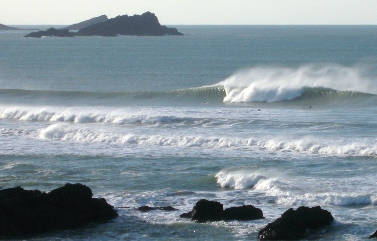 Fistral-North surf break