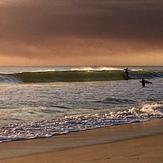 SCARBOROUGH BUSHFIRE SUNSET, Scarborough Beach