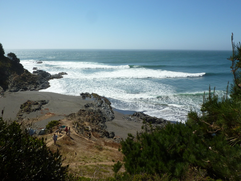 Buchupureo surf break