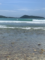 Fun waves, Patong Beach photo