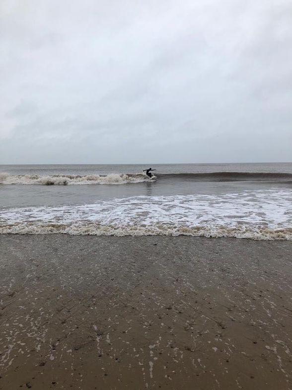 Cromer surf break
