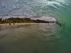 Ola en Crash Boat  photo