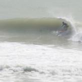 Paul charging, Sandy Bay