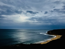 Bells beach storm, Bells Beach - Bowl photo