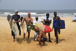 Ponton surf, Cote Sauvage photo