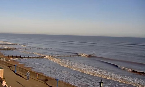Small Spring Swell at Sheringham, East Runton