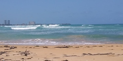 Left sandy waves of La Selva, Luquillo - La Selva photo