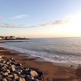 Aberystwyth main beach, Aberystwyth harbour trap
