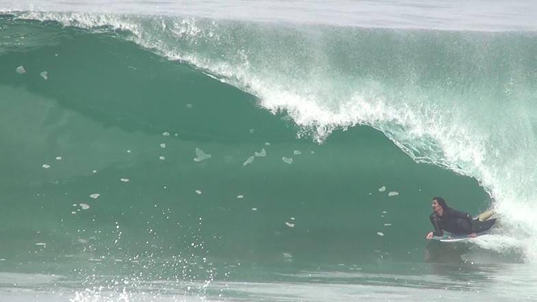 Barrancon surf break