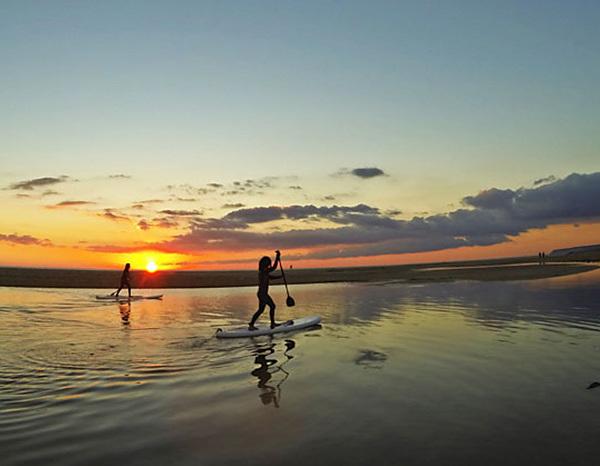 Rutas con encanto. REDTUNA Paddle Surf, Zahara de los Atunes