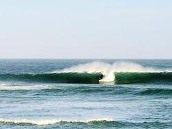 Dropping in, Punta Abreojos photo