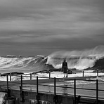 Autumn Storm swell, Dee Why Point