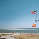 looking out from west bathhouse, Jones Beach State Park