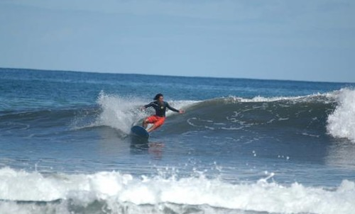 Eddie Donzo shreds Kihei Cove during south swell, The Cove