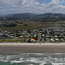 Waihi Beach SW towards airstrip.