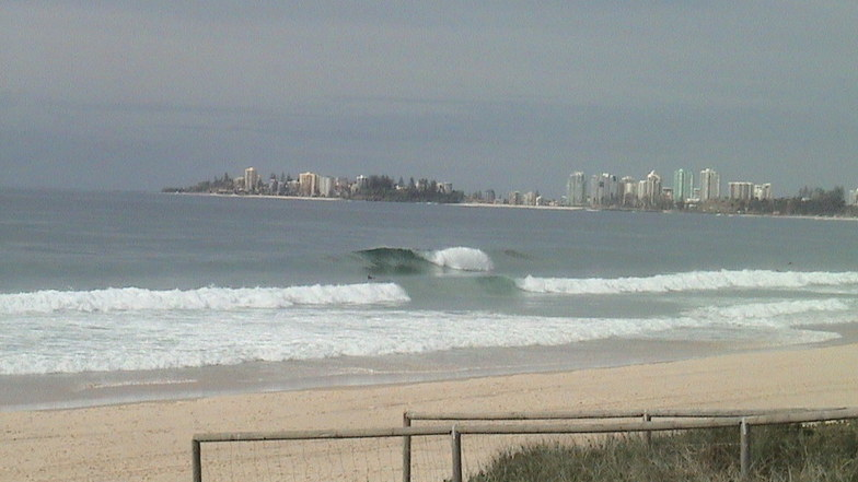 Tugun surf break