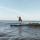 Paddlesurf en Punta Umbría, Punta Umbria (Playa Camarón)