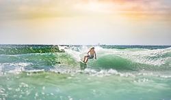 Local surfer KM, Los Veneros photo