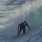 Salida del tubo, Playa de Gros