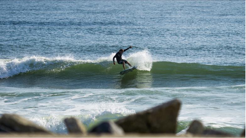Matanzas Inlet surf break