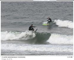 Austin and Robert, Matanzas Inlet photo