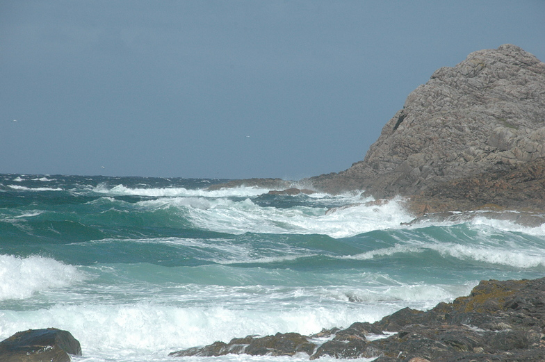 High to Falling tide, Hogh Bay (Coll)