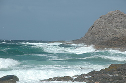 High to Falling tide, Hogh Bay (Coll) photo
