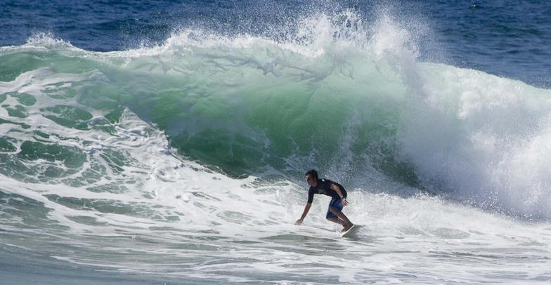 Dairy Beach (New Pier) surf break