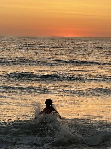 Golden hour, Praia do Pego