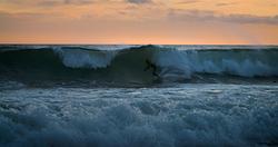 Sunset surf January 2020, Toro photo
