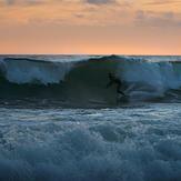 Sunset surf January 2020, Toro
