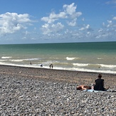 Midsummer windswell at Dieppe, Pourville