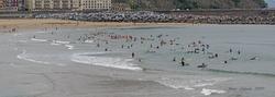 Mar en calma, Playa de Gros photo