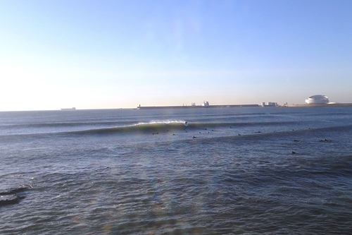 A good surf day!  at Matosinhos beach.