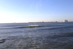 A good surf day!  at Matosinhos beach. photo