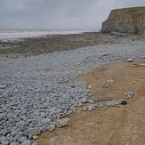 Southerndown, beach erosion
