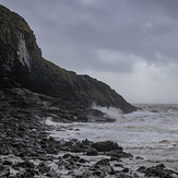 Storm Francis - August 2020, Southerndown