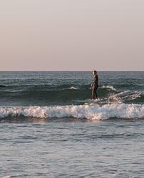 Chilled waves, Muizenberg photo