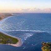 Boca da Barra 3' - Small waves on  the  Rio de Contas river mouth