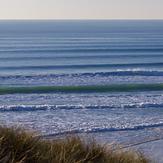 December surf, Le Porge