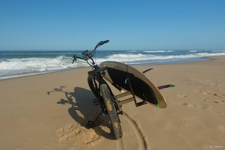 Time to surf., Le Porge