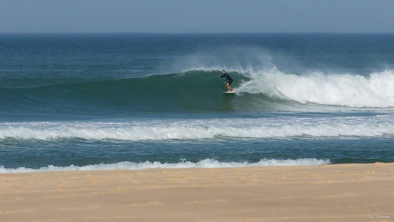 Good surf today, Le Porge