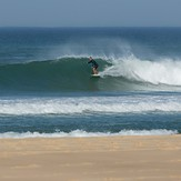 Good surf today, Le Porge