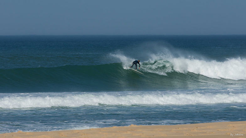 Free surf by James, Le Porge