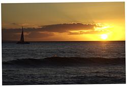 Sunset, Ka'anapali Point photo