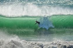 Beach break surfing, Mitchell's Cove photo