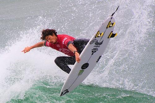 Winner of the Men's 2019 Van's World Surfing Championship in Huntington Beach