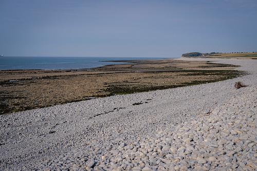 Gileston beach at low tide
