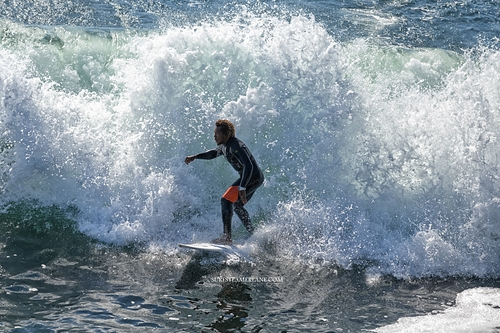 Out of the pocket, Steamer Lane-The Slot