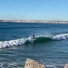 Surfing in the morning, Meia Praia